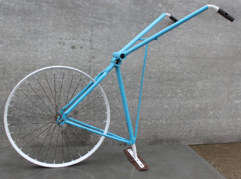 Электрокультиватор из велосипеда