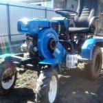 Мини-трактор можно сделать из мотоблока своими руками