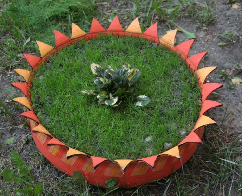 Интересные идеи по созданию поделок из шин своими руками с пошаговыми фото