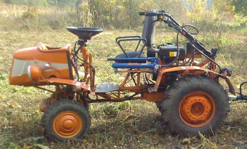 "Мини-трактор из мотоблока ""Кентавр"""