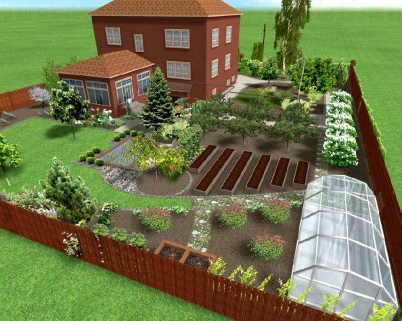 Огород своими руками планировка 31