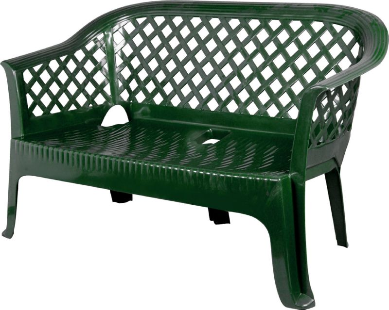 Скамейка из пластика