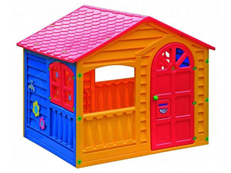 пластиковый дом