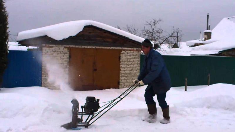 Изготовление снегоуборщика не займет у вас много времени