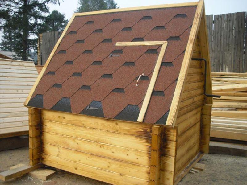 поэтому деревянный домик для колодца компания Thermoform