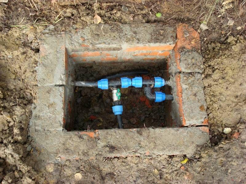 часть водопровода