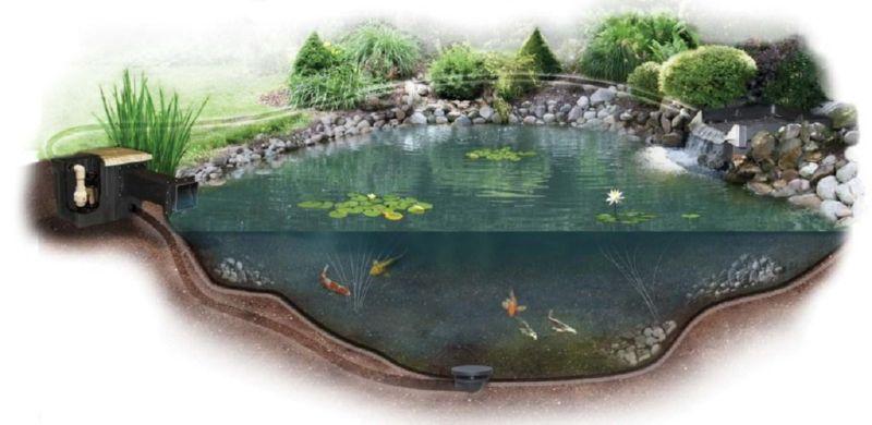 декор водоема