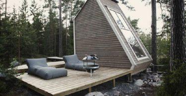 классный дизайн дачного домика