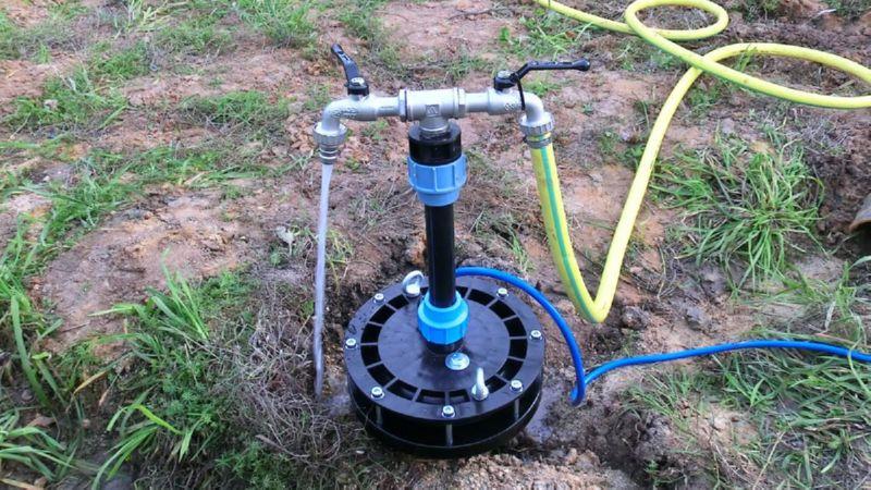 В чем заключается принцип работы скважин на воду