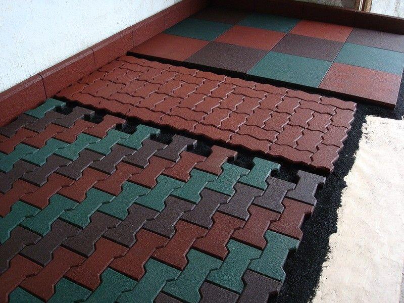 Плитка, изготовленная своими руками