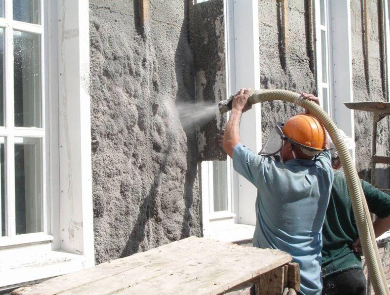 Утепление домов с помощью эковаты