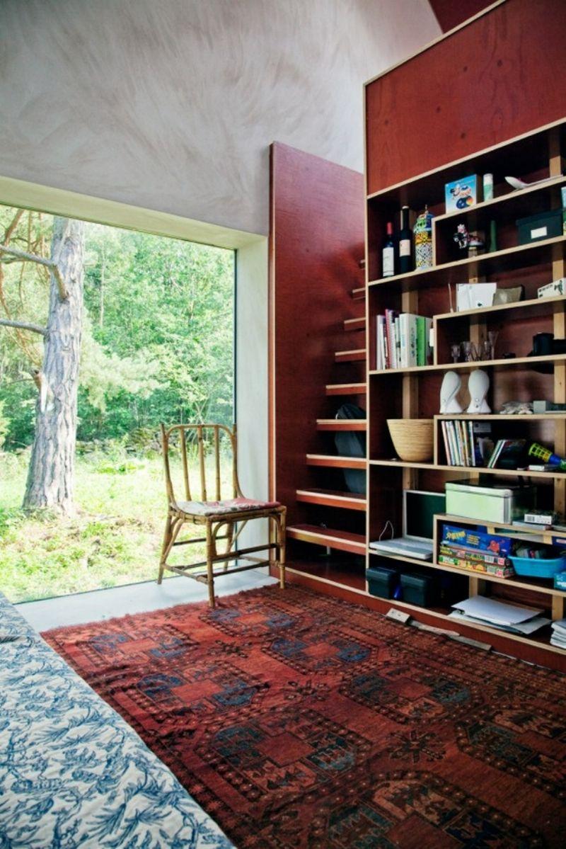 Интерьер садового домика фото