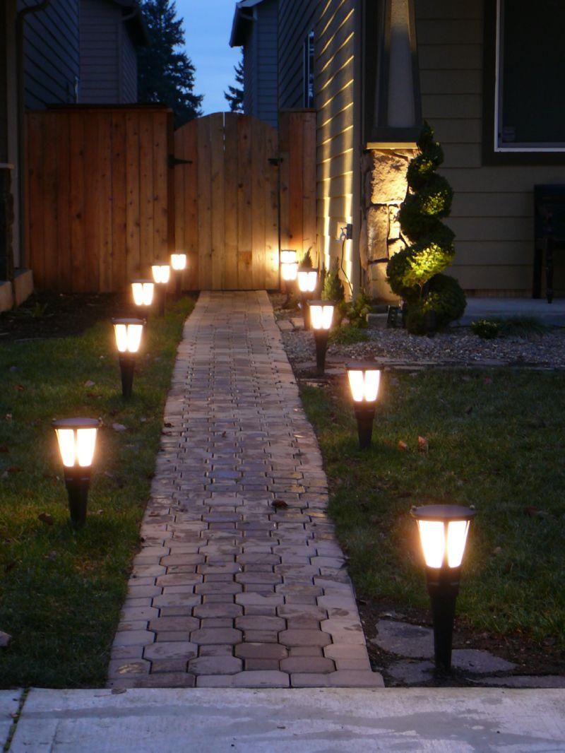 вариант схемы освещения