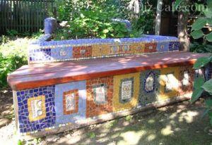 Ограда мозаичная