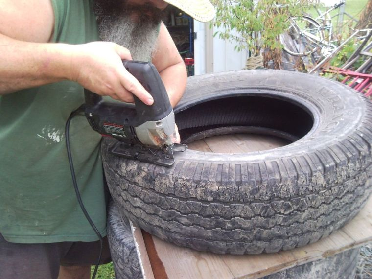 порезка шины