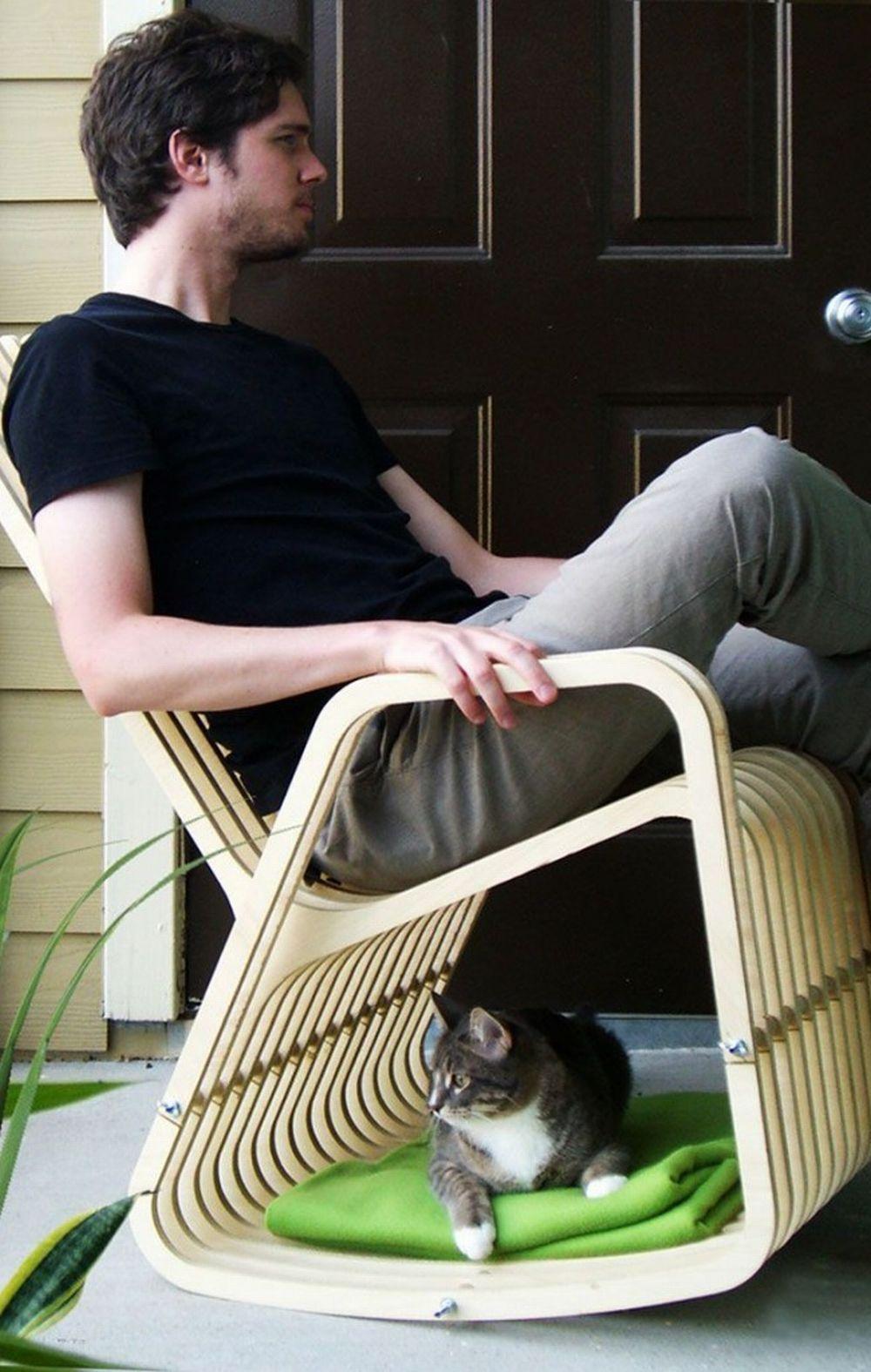 Как своими руками сделать кресло-качалку (фото, чертежи, размеры)