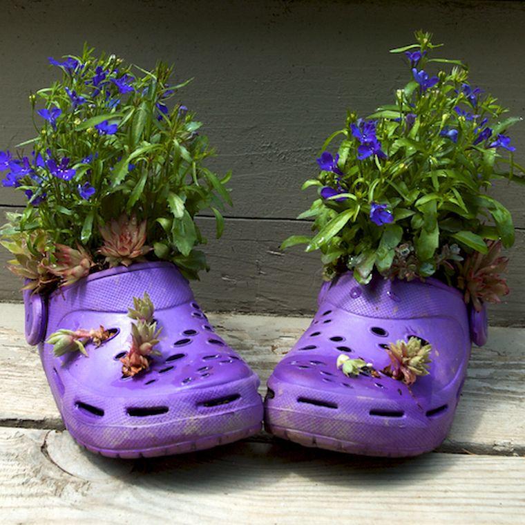 Детская обувь в декоре