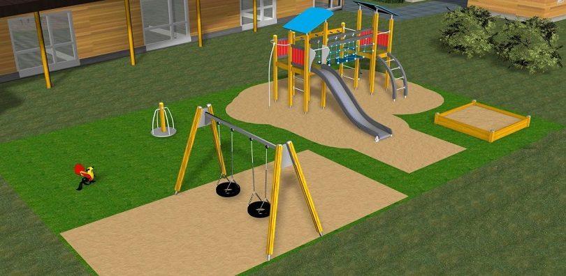 Готовая площадка для детей