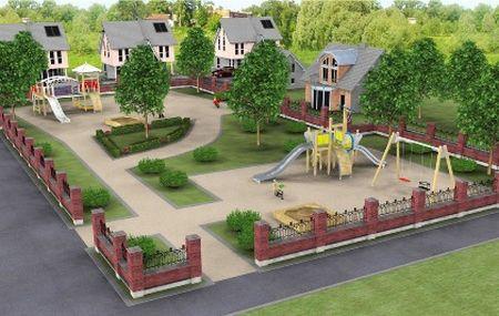 Детская площадка на даче своими руками: фото, идеи, советы