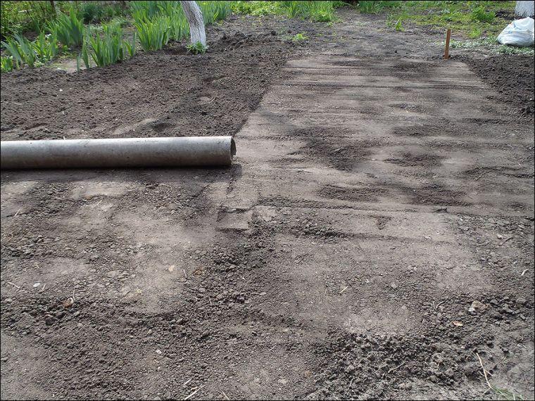 Трамбовка почвы