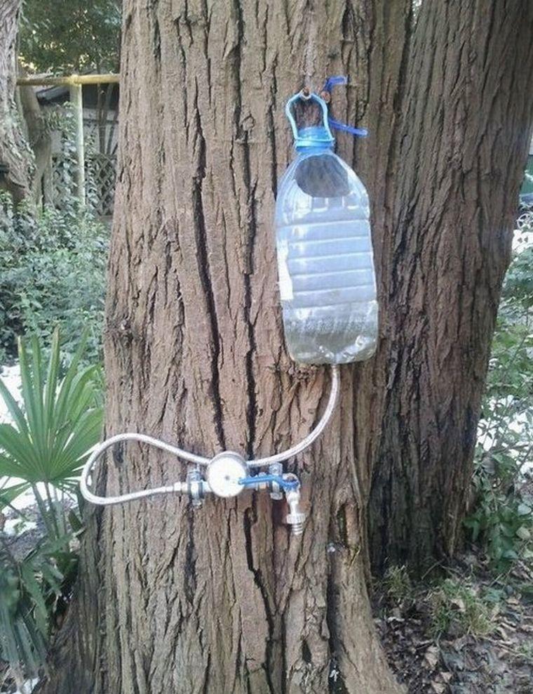 Умывальник из пластиковой бутылки своими руками