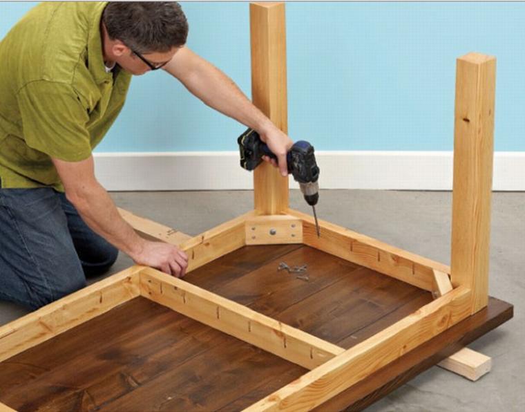 Как сделать деревянную столешницу своими руками