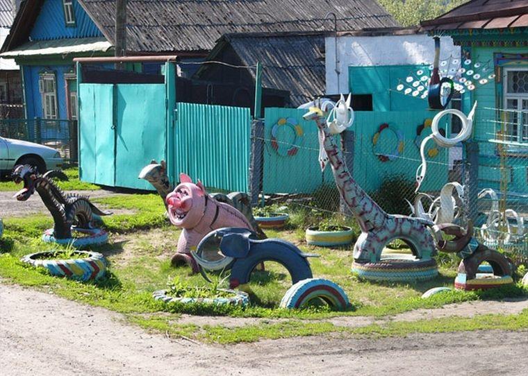 Пластиковый зоопарк
