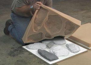 Создание искусственных камней
