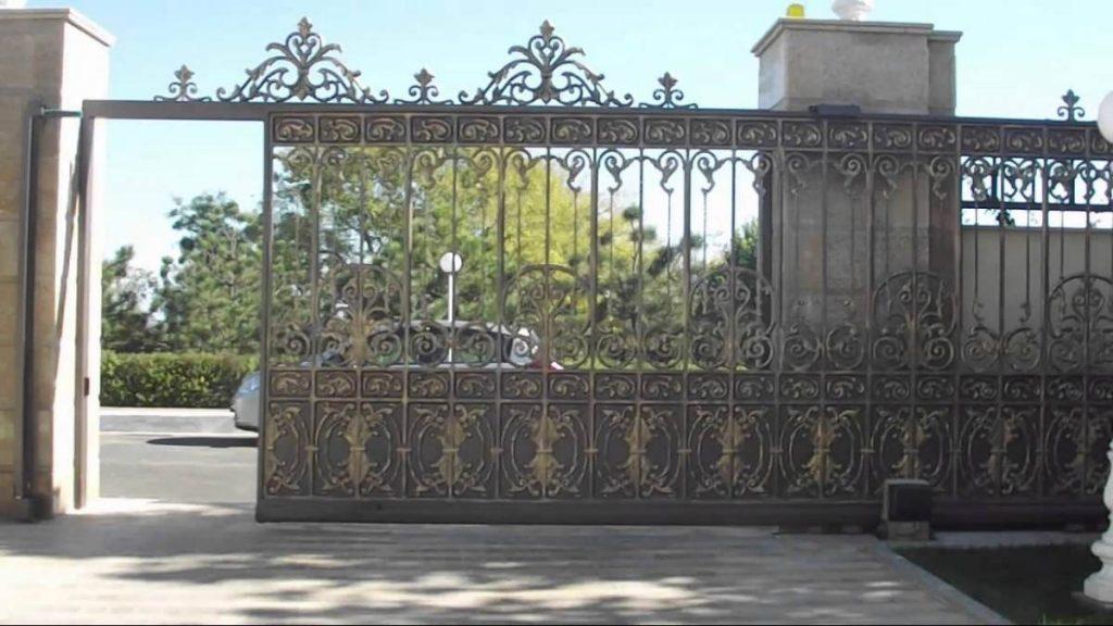 Автоматизированные откатные ворота