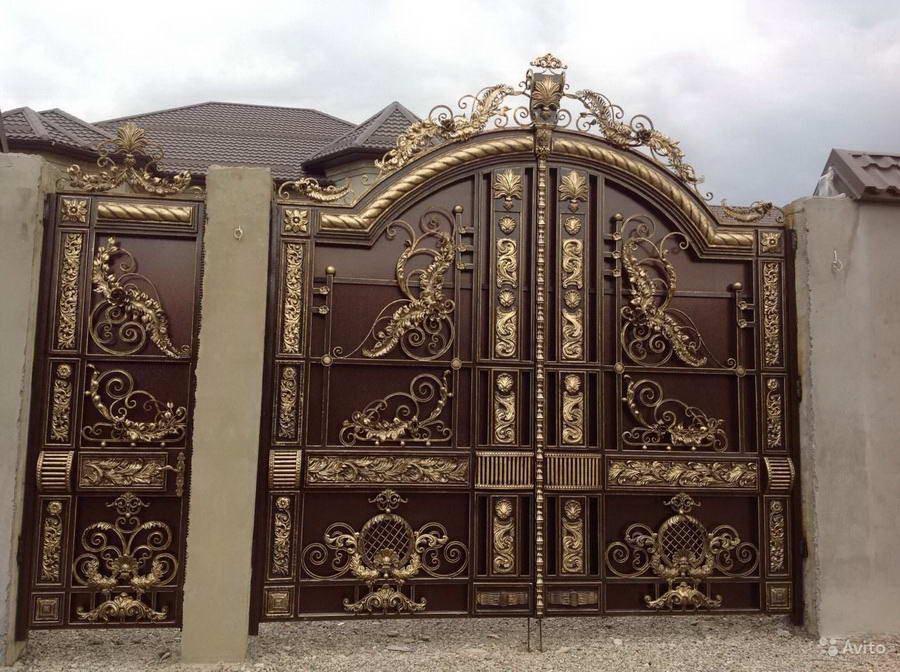 Элитные кованые ворота