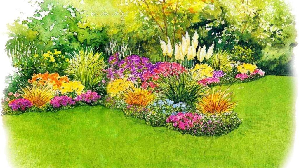 Цветущие газоны своими руками 5