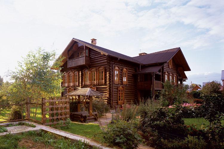Дом и сад в русском стиле