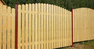 Как сделать деревянный забор