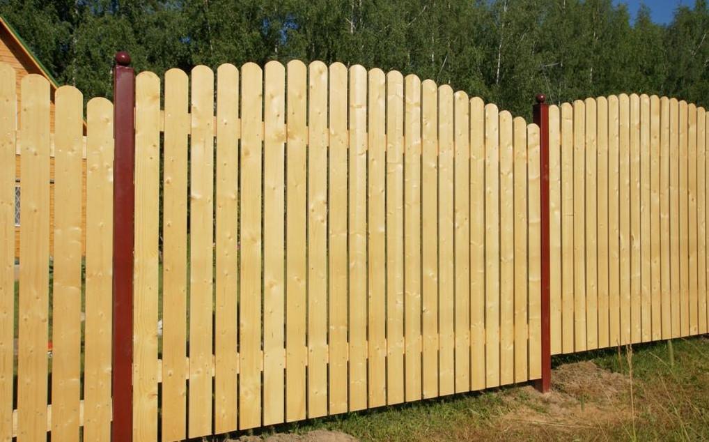 Деревянные заборы на даче своими руками 30
