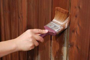 Как и чем покрасить забор