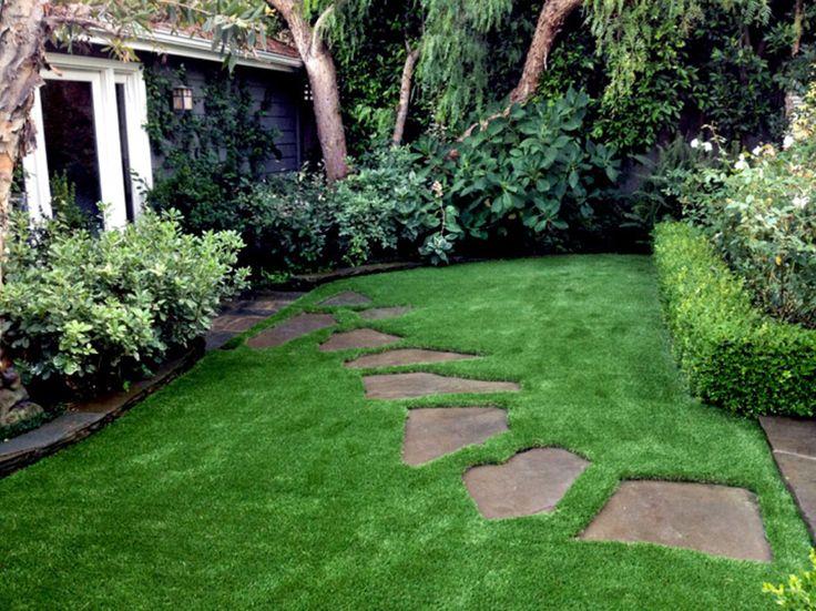 Рулонный газон или газонная трава семенами