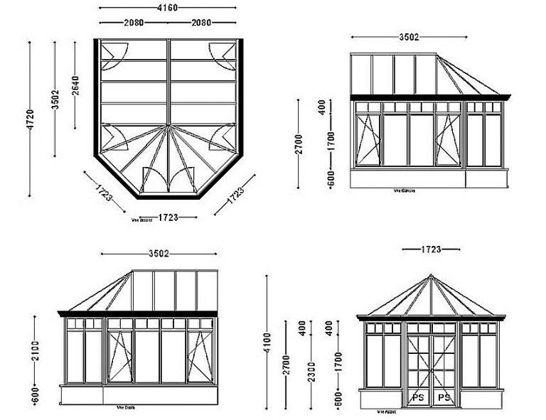 Схема веранды к дому своими руками