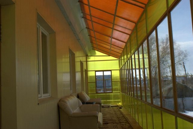 Веранда из поликарбоната, пристроенная к дому: подборка фото и инструкция по изготовлению своими руками