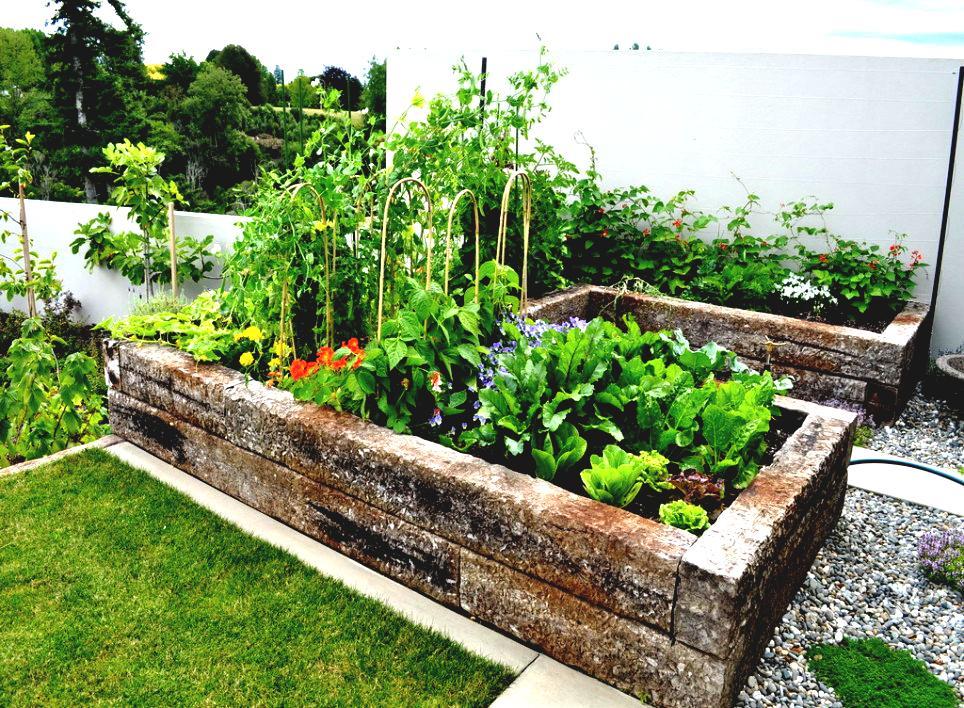 Как красиво обустроить огород своими руками фото