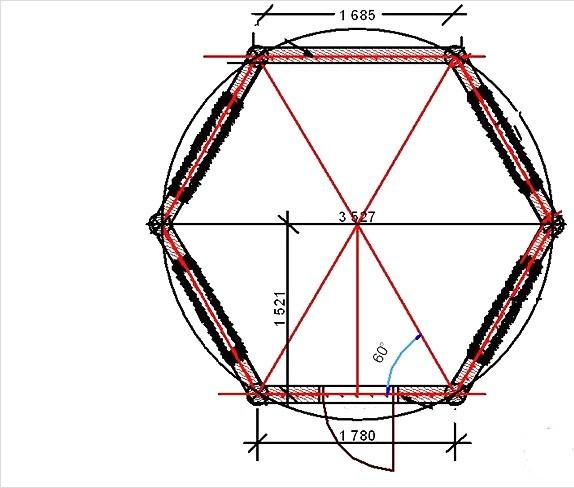Как сделать шестигранную трубу своими руками