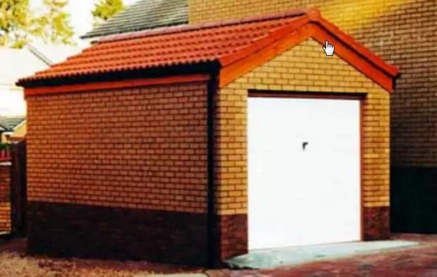 Проекты гаражей с хозблоком и баней