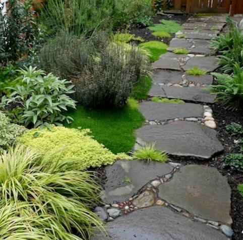 Садовые дорожки своими руками: чертежи и дизайнерские решения