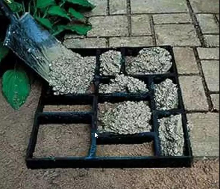 Как сделать садовую дорожку своими руками формы