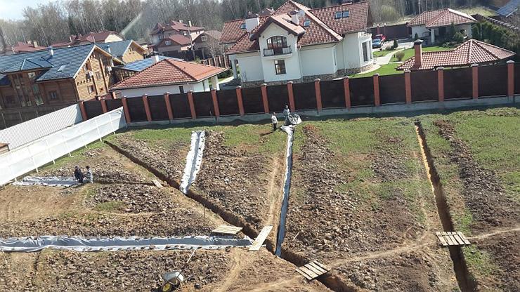 Дренажная система вокруг дома своими руками от грунтовых вод