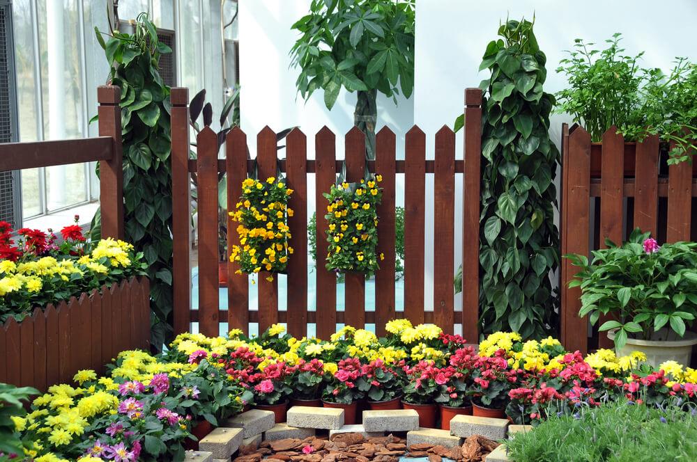 Забор перед домом своими руками фото 16