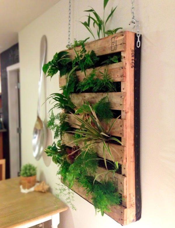 Своими руками вертикальное растение 87