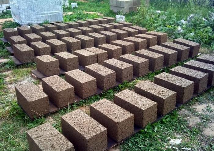 Арболитовые блоки в домашних условиях своими руками фото 150