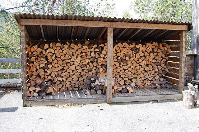 Как сделать дровяник своими руками - 33 фото 992