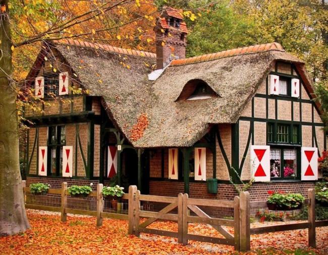 Фахверк — современная романтика и практичность Средневековья