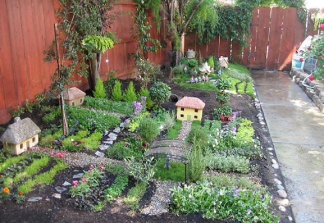 Дизайн сада и огорода на 6 сотках - особенности проектирования